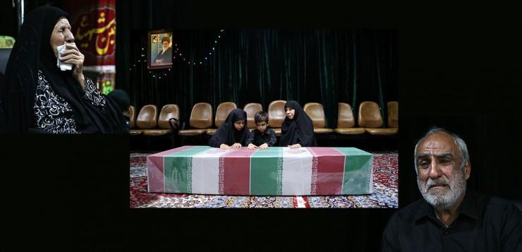 ببینید؛ گزارش تصویری بازگشت پیکر شهید مدافع حرم علی اصغر شیردل