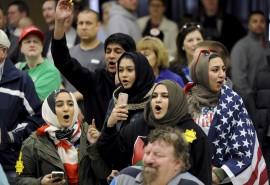 تشویق, مساجد, امریکا,مردم در انتخابات