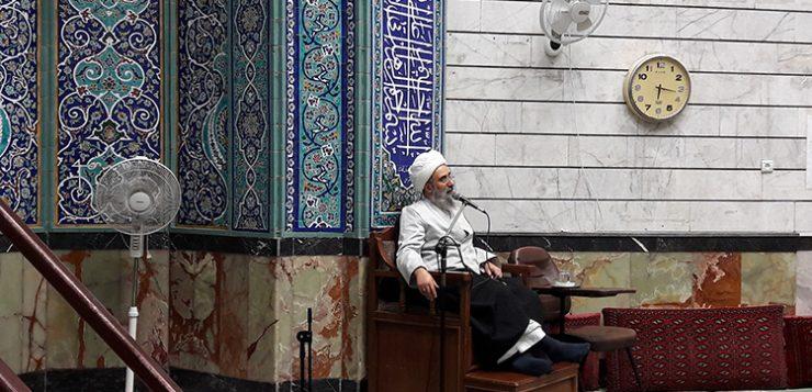 جلسه تفسیر استاد اخوان، روز یکشنبه، 5 دی ماه 95 در حوزه ابوطالب(س) + گزارش تصویری