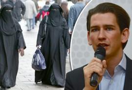 حجاب ممنوع,صلیب آزاد,وزیر امور خارجۀ اتریش,سباستین کورتز
