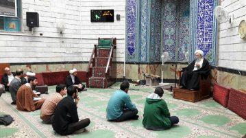 جلسات, استاد شیخ عباس اخوان,مسجد منیریه,حوزه های علمیه