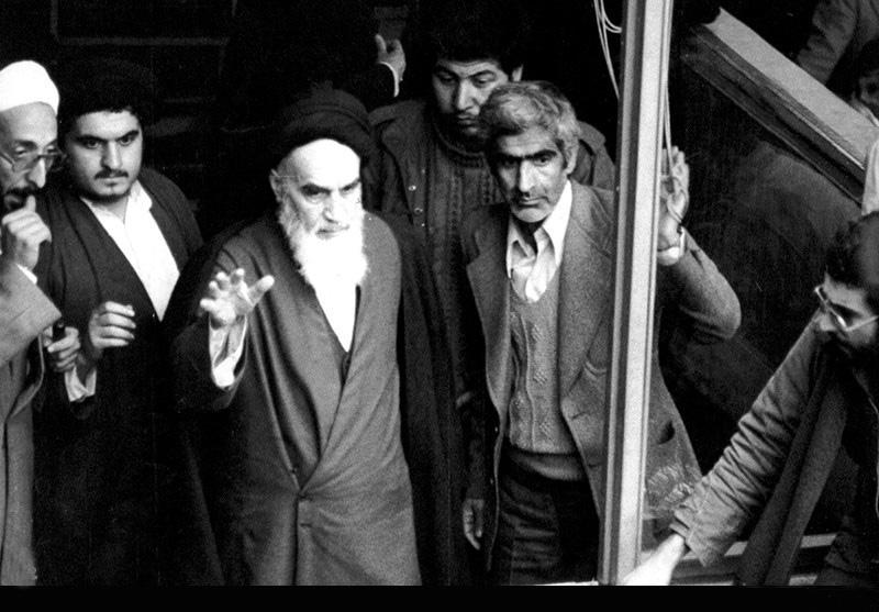 حضور, امام خمینی,مدرسه, علوی