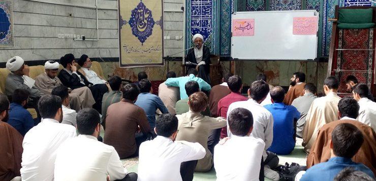 برگزاری مراسم آغاز سال تحصیلی جدید، در حوزه علمیه حضرت ابوطالب علیهالسلام